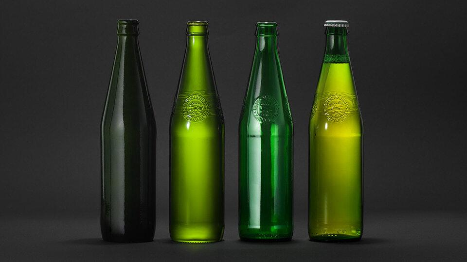 butelka Łomży