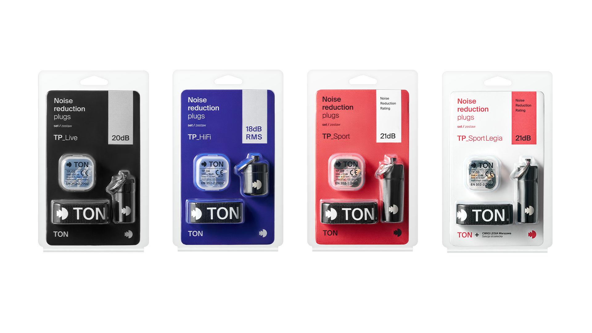 TON — projekt opakowań
